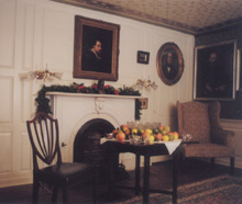 Restoration of the 1782 McCook Parlor.